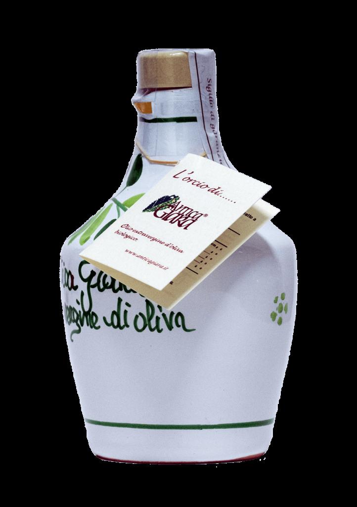Antica Giara olio biologico bottiglia terracotta 250ml